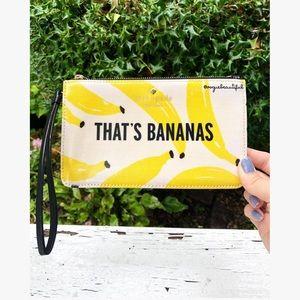 Kate Spade That's Bananas Wristlet